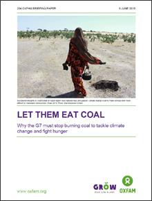 [LET THEM EAT COAL] G7국가들이 기후변화와 기아를 심화시키는 화석연료 사용을 중단해야하는 이유