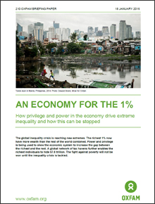 [AN ECONOMY FOR THE 1%] 1%를 위한 경제
