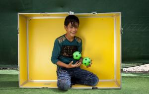 [아이디어박스 프로젝트] 난민 어린이들의 상처를 보듬고, 웃음을 되찾아줍니다