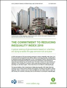 불평등해소실천지표 2018 (Commitment to Reducing Inequality Index 2018)