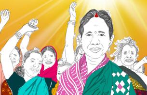 """그림으로 전하는 인도 소녀 이야기 """"조혼을 멈추고 소녀들의 꿈을 찾아요!"""""""