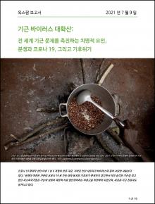 기근 바이러스 대확산: 전 세계 기근 문제를 촉진하는 치명적 요인, 분쟁과 코로나19, 그리고 기후위기