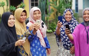 [수혜자 스토리] 기술로 미래를 개척하는 인도네시아 여성들 💪