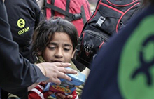 시리아 난민들의 시린 겨울